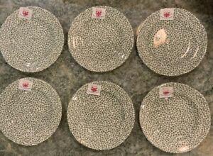 "SPODE Ruskin House THYME Bread & Butter Tea Plates 6""  Set of SIX"