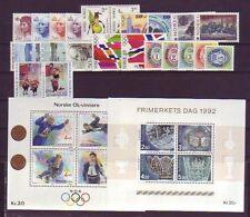 Norwegen 1218-1225 Postfrisch 1996 Norwegische Post kompl.ausg.