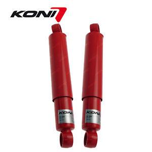 2 x Rear KONI Heavy Track Adj Shock Absorbers for Toyota 4 Runner Hi-Lux LN YN