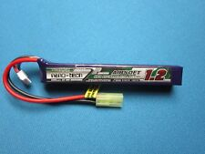 TURNIGY NANO-TECH 1200mAh 3S 11.1V 25-50C LIPO BATTERY AIRSOFT MINI TAMIYA MOLEX