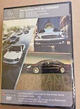 04-08 Mercedes CL,S,SLK, E,CL CLK CLS, Navigation DVD 7.0 - Map Edition © 2008