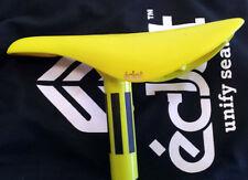 Eclat Unify Seat Unpadded YELLOW  BMX SEAT SADDLE