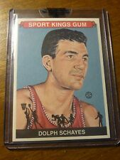 2008 SPORTKINGS B DOLPH SCHAYES #56 BASE CARD BASKETBALL LEGEND