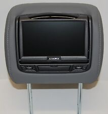 Toyota Sequoia Dual DVD Headrest Video Players Monitors for Cloth or Leather