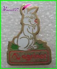 Pin's Un petit Lapin blanc Rabbit Agrinet   #1967