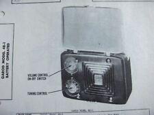 GAROD 4B-1 RADIO PHOTOFACT