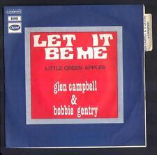 """GLEN CAMPBELL & BOBBIE GENTRY 45T SP Anglo BIEM """"Let it be me"""""""