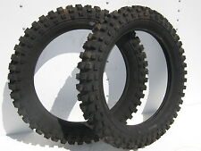 2 BARUM 4.00-18 NOS TIRE REAR CZ CR MX YZ RM AHRMA MOTOCROSS VINTAGE Desert Race