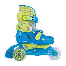 Bambini Pattini in linea Trigo blu con LED Rullo leggero ERL 26-29 REGOLABILE