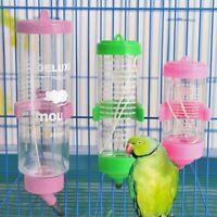 Pet Hamster Water Dispenser Plastic Hanging Fountain Bottle Drinking Feeder