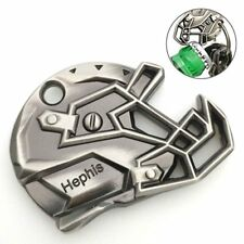 Hephis Keychain Bottle opener Football Cap Hat Key Ring Silver and Copper Gift