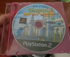 Shrek Smash N' Crash (disc only) - PLAYSTATION 2 PS2  - FREE POST