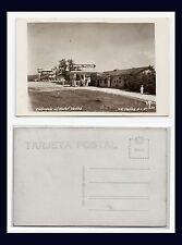 MEXICO SAN LUIS POTOSI HOTEL VALLES AND GAS STATION MEXICANO FOTO CIRCA 1948