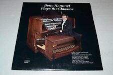 Bene Hammel~Plays the Classics~AUTOGRAPHED~Baldwin Piano & Organ~FAST SHIPPING