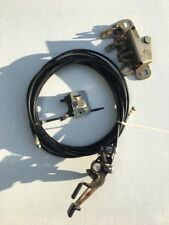 1979-1981 Toyota Celica Oem Hatch Trunk Gas Door Release Lever Cables Assembly