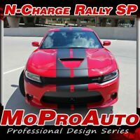 2015-2019 Charger Scat Pack 392 Hellcat Rally Racing Stripe Decal Vinyl Graphic