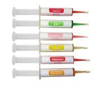 Dental Topical Anesthetic Gel SET of 6 SYRINGE KIT (6 x 20 grams)