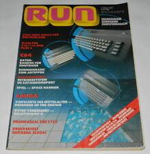 RUN  Unabhängiges Commodore Computermagazin  3 März 1987