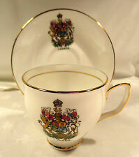 Duchess Bone China England Canada Cup & Saucer