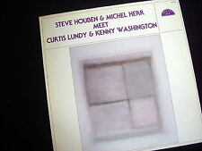 STEVE HOUBEN & MICHEL HERR MEET CURTIS LUNDY & KENNY WASHINGTON~1983~GOOD COPY