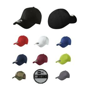 New Era 39Thirty Cap Stretch Cotton Authentic Fitted NE1000 Hat (Multi Colors)