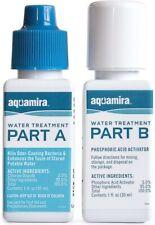 Aquamira Water Treatment Kit 1 oz, 2 oz, Treat 30 or 60 Gallons, USA Made