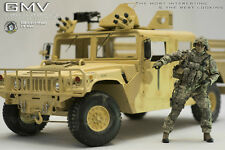 1/6 scale Hummer truck vehicle car Jeep U.S Army GMV HMMWV FULL METAL