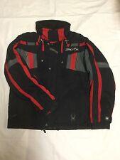 Spyder Ski Coat Kids Sz18 Red with Black/Gray trim