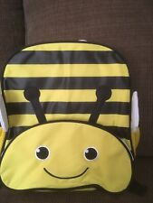 "12"" Kids Bumble Bee Critter Backpack Pre School Toddler Book Bag Tote Preschool"