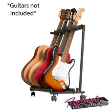 Xtreme Multi Guitar Rack with Wheels - Holds 5 Guitar - Great for the Studio