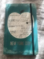 New York City Journal Lined Paper Soft Cover Big Apple With Districts Inside