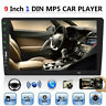 """Single1 Din 9""""Car FM MP5 Player Touch Screen Stereo Radio BT Mirror Link"""