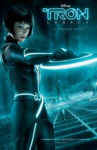 Tron Legacy movie poster (f)  - 11 x 17 inches