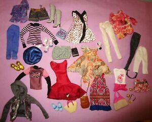 Liv Doll Spin Master Liv Fashion Clothes Dress Pants Shoes Jacket 2009 Lot