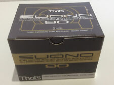 That's SUONO 90 - BOX OF 5 Blank Metal audio Cassette - New and sealed