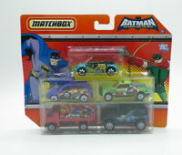 Matchbox Batman The Brave and Bold 5 Pack Brand New Free Shipping