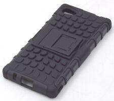 PD0688 Shockproof Case Hülle mit Ständer für Sony Xperia Z5 Compact schwarz NEU
