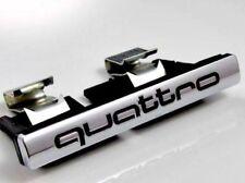 FOR QUATTRO Audi A3 A4 A5 A6 A8 Q5 Q7 Grill Badge Emblem Quality New