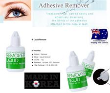 BEST KOREAN Adhesive Glue REMOVER LIQUID Type 15ml  Eyelash Extension LASH FALSE
