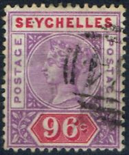 Victorian (1840-1901) Used Seychellois Stamps (Pre-1976)