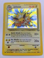 Pokemon 💎Jolteon Holo💎1999 Jungle Set 4/64🌟WOTC🌟 Rare Card