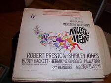 MEREDITH WILLSON'S THE MUSIC MAN-SOUNDTRACK-LP-VG-WARNER BROTHERS-PRESTON-JONES