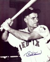 Bobby Doerr Signed Autographed 8X10 Photo Boston Red Sox B/W w/COA