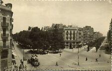 spain, VALENCIA, Gran Via del Marques del Turia, Av. José Antonio, Tram (1940s)