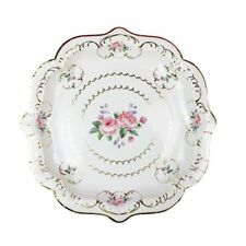 8 Luxury Vintage Style Afternoon Tea Party Paper Plates 23cm Luxury Foil Finish