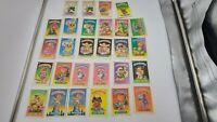 1985 Garbage Pail Kids Lot of 27 Cards Total