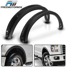 Fits 15-18 Ford F150 Pickup OE Factory Style Fender Flares 4PC Matte Black - PP