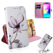 Beautiful Magnolia Wallet Multi-function Leather cover Case for various phone