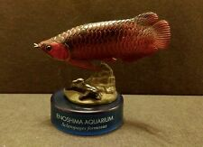 Kaiyodo Japan Aquarium Exclusive Red Arowana Dragon Fish Figure SP Secret