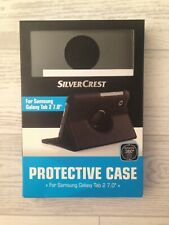 SilverCrest Samsung Galaxy Tab 2 7.0 Book Cover Case Black Cover New Unsealed